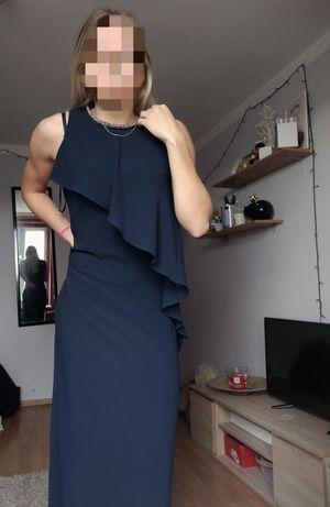 Nowa długa sukienka