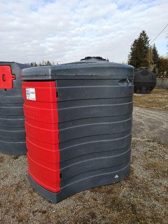 Zbiornik 1500l na paliwo ropę drzwi Dwupłaszczowy