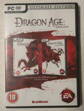 Dragon Age Origins jogo PC