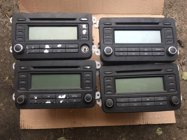 Komplet-4x radio golf V, stan od 2-5. Sprawne