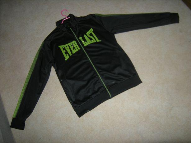 Czerń i zieleń extra bluza Everlast