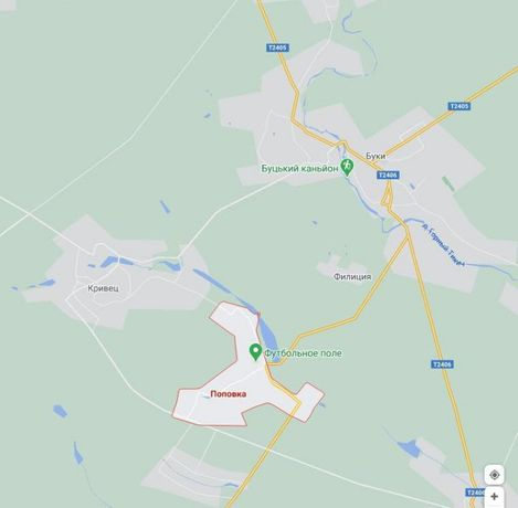 Хата в селі Попівка, Маньківського р-ну, Черкаської області
