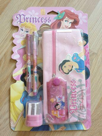 Канцелярский Набор Princess-пенал,точилка,линейка,ручка,карандаш