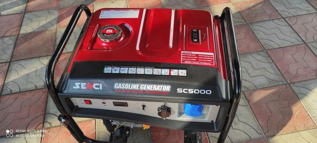 Бензо генератор SC5000 4 такта 5кВт.