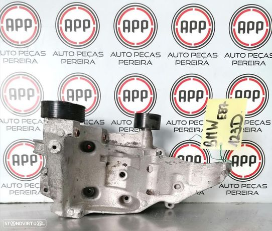 Apoio alternador compressor ac BMW E87 123D, motor N47.