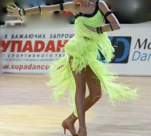 Платье для бальных танцев латина, юниоры, молодёжь