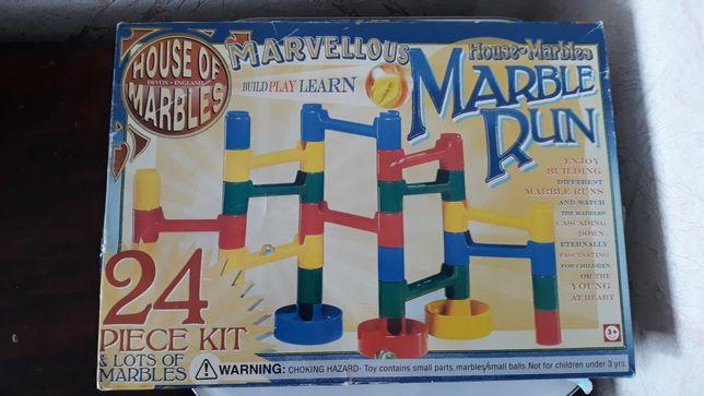 Трасса конструктор для шариков marble run оригинал комплект