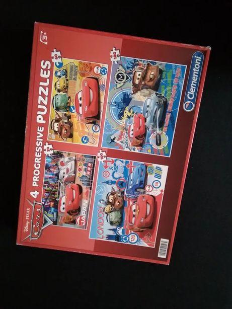 Puzzle Cars 4w1 Clementoni