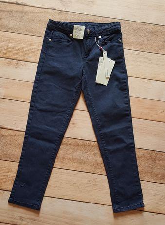 Spodnie bawełna 128cm nowe