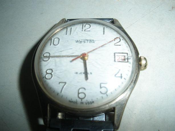 Наручные часы Wostok,с желтым корпусом (AU) хорошее состояние ,СССР.