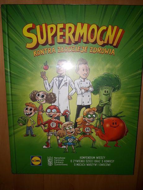 Supermocni książka Lidl Kontra złodzieje zdrowia nowa w folii