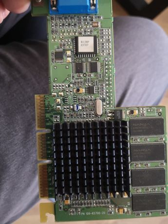 Placas gráficas retro RAGE PRO 128 32mb agp para 486 e pentium