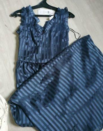 Красивейшее брендовое платье в пол новое Vila