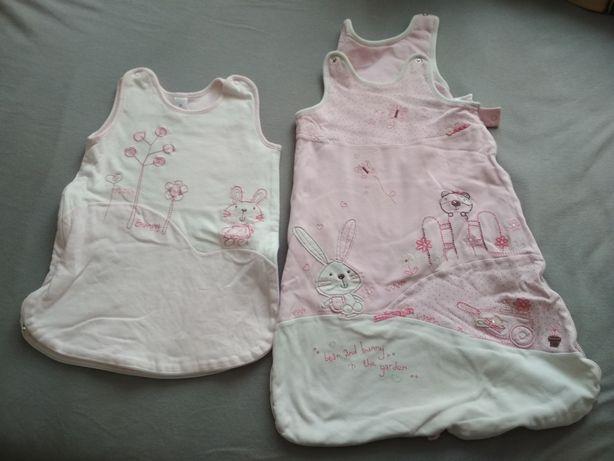 Śpiworek dziecięcy różowy 62 68