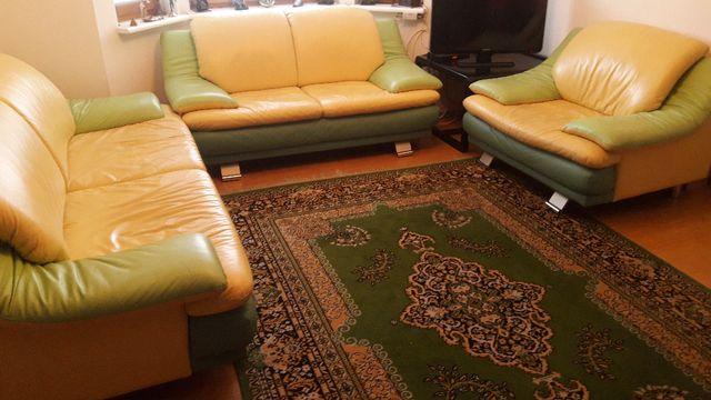 Komplet wypoczynkowy 3+2+1 - kanapa, sofa, fotel