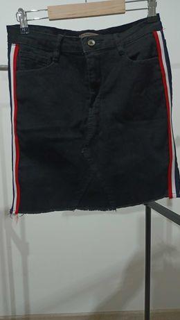 Spódnica jeansowa  czarna