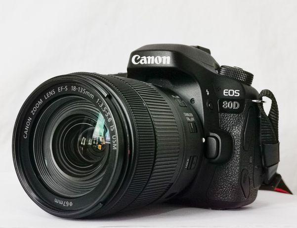 Canon 80D/Cerca de 4mil Disparos + lentes