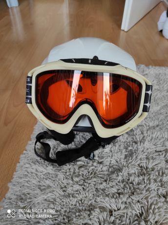 Sprzedam kask narciarski z goglami