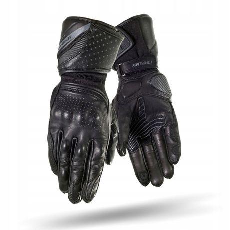 SHIMA MONDE BLACK Rękawice motocyklowe