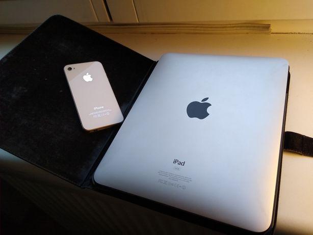 Zestaw iPad 1 + iPhone 4s stan idealny