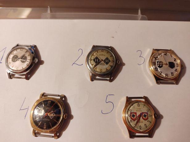 fragment kolekcji zegarków III Rzesza