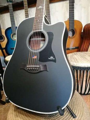 Gitara akustyczna KEPMA D1C BKM akustyk czarna satyna