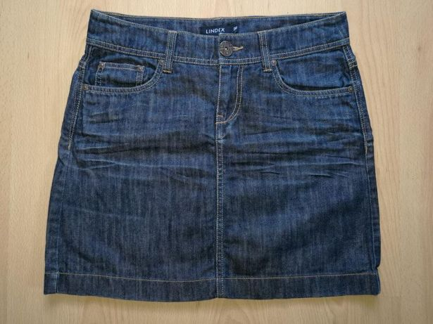 Spódniczka jeansowa LINDEX roz. 36 spódnica mini
