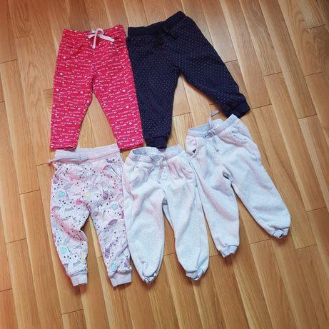 5 par spodni 92 spodenek dresowych h&m smyk cool club f&f pepco dresy