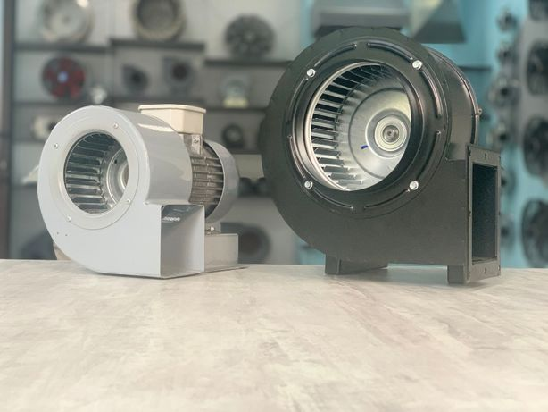 Радиальный,центробежный,пылевой вентилятор OBR 200M-2K,OBR 140M-2K