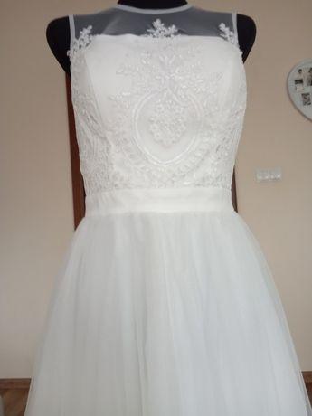 Suknia ślubna Chi Chi London 10 38 Nowa krótka