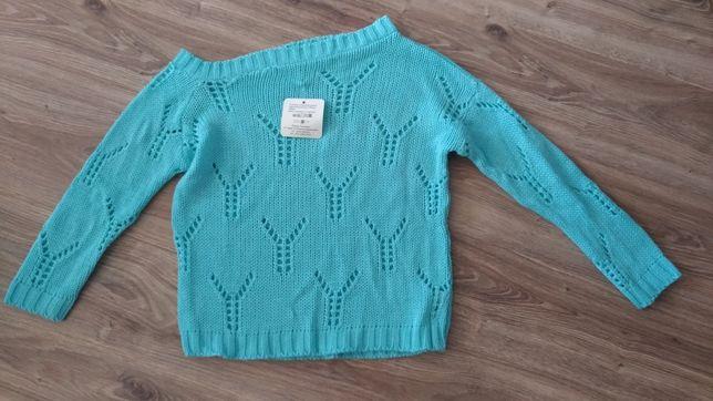 nowy sweterek miętowy. Produkt Polski wysoka jakość