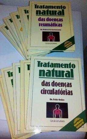 Colecção de livros.. Tratamento Natural...