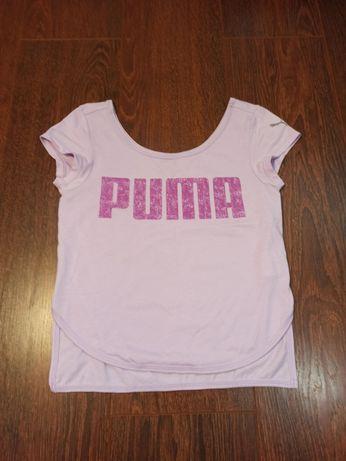 Продам футболку Puma на девочку 9-10 лет. Рост 140.