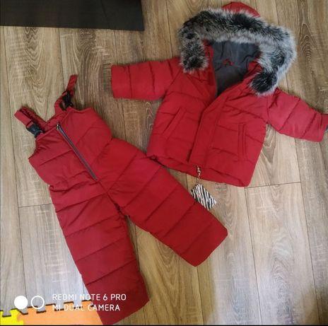 Комбенизон зимний (костюм) glamour kids