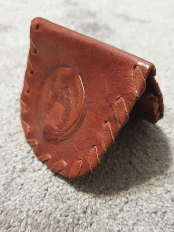 Portfel / sakiewka ze skóry wielbłąda