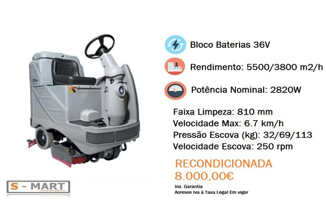 Lavadora Pavimentos Nilfisk BR 850S X