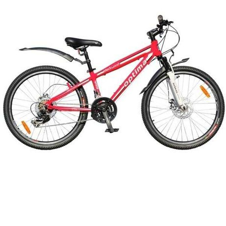Велосипед Optima Blackwood 24 disk
