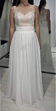 Suknia ślubna 2 w 1.