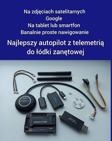 Super Autopilot Łódka Zanętowa na Tablet - Smartfon - Laptop / pilot