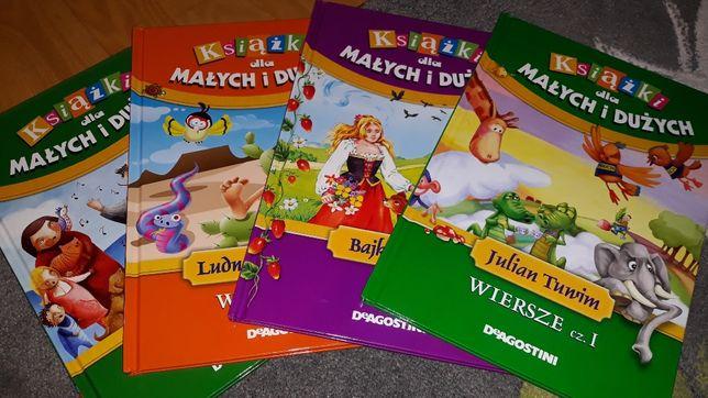 Zestaw książek dla Małych i Dużych DeAgostini