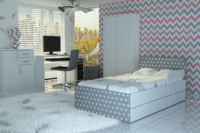 Łóżko dla dziecka,dziecięce z materacem i szufladą. Dostawa GRATIS
