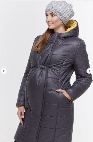 Продам зимнее пальто для беременных.