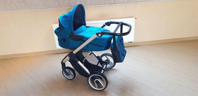 Универсальная коляска 2 в 1 Mutsy Evo, цвет Pacific (серебро) +подарок