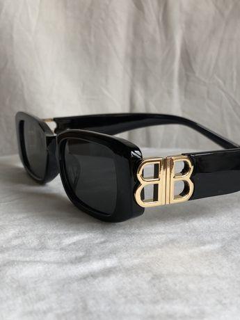 Óculos de Sol Balenciaga BB Retro Vintage drip