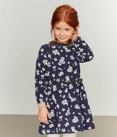 Платье для девочки с принтом petit bateau