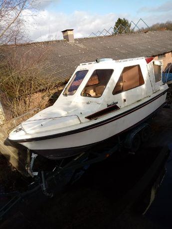 Łódz kabinowa motorowa,Yacht motorówka Sea star