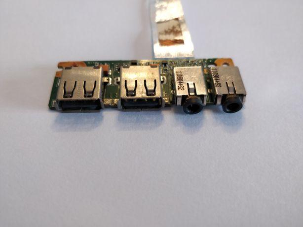 Placa USB e Áudio de Portátil ASUS
