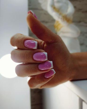 Маникюр ногти гель-лак наращивание мариуполь