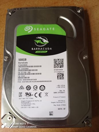 Seagate Barracuda 500 gb