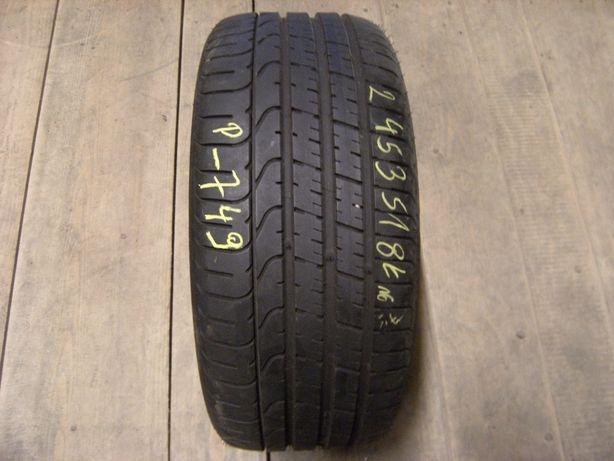 245/35/18 Pirelli P Zero TM Bridgestone Potenza S001 RunFlat pojedynka